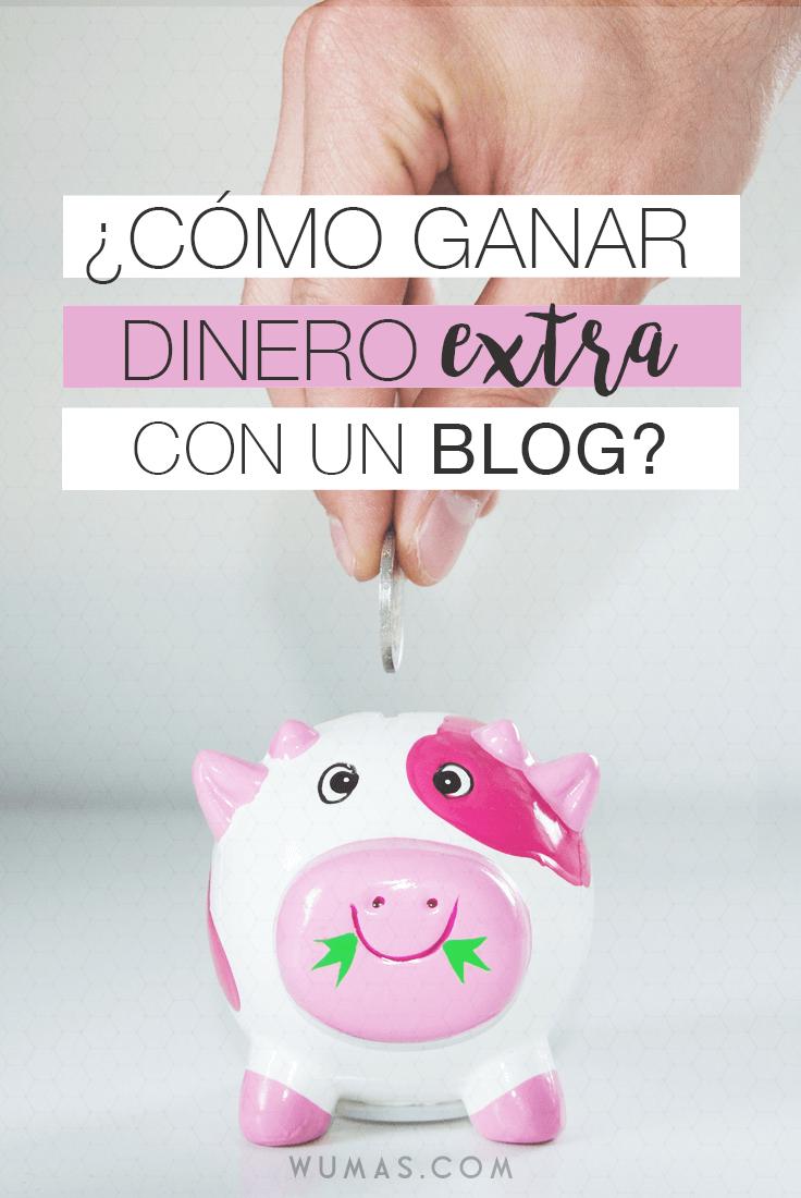 Cómo ganar dinero extra con un blog?