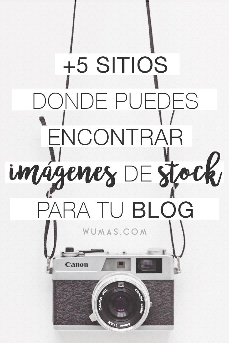 +5 sitios donde puedes encontrar imagenes de stock para tu blog