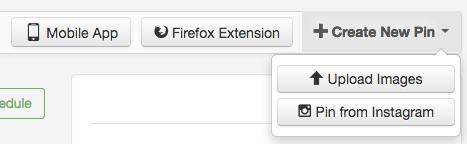 Cómo agregar un pin a la programación de Tailwind para Pinterest